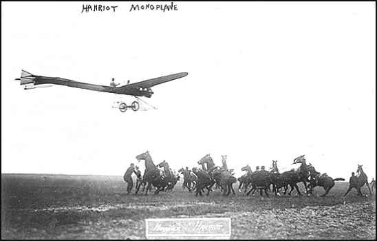 Marcel in the Hanriot IV