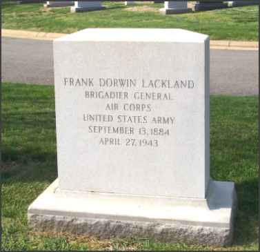 Lackland Headstone