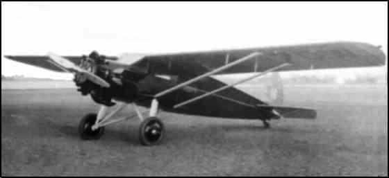 First Cross Country Flight Of The Packard Diesel Powered